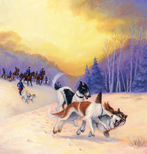 Little Lions, Bull Baiters and Hunting Hounds written and illustrated by Jeff Crosby and Shelley Ann Jackson for Tundra Books