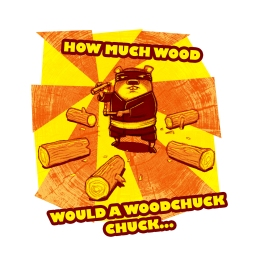 How Much Wood Would a Woodchuck Do... by Jeff Crosby