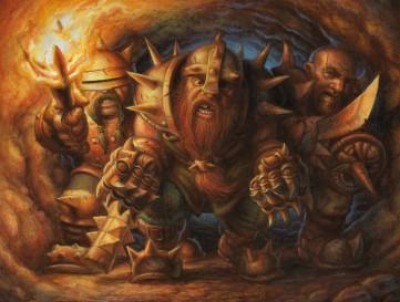 Dwarf Brawlers by Jeff Crosby