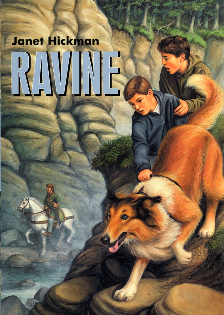 Ravine book cover for Random House by Jeff Crosby
