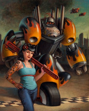 Robobilly by Jeff Crosby