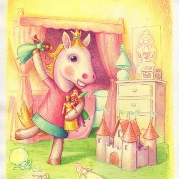 Winny Loves Princesses by Jeff Crosby