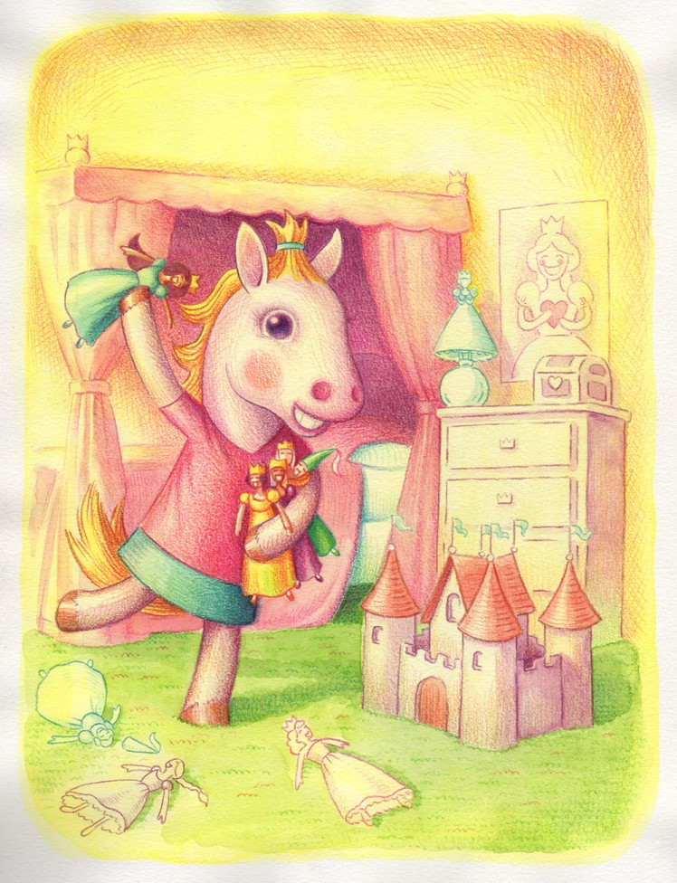 Winny Loves Princesses by Jeff Crosby