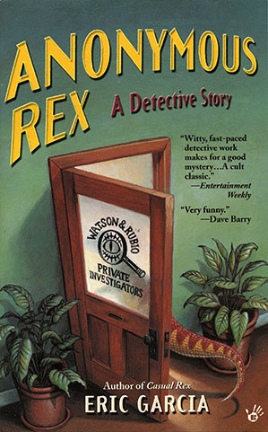 Anonymous Rex cover art by Jeff Crosby
