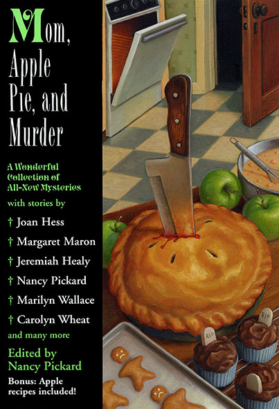 Mom, Apple Pie, and Murder cover art by Jeff Crosby