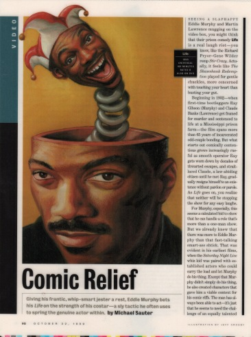 Eddie Murphy, Entertainment Weekly