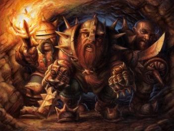 Dwarf Brawlers