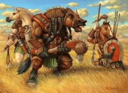 Equitaur War Band