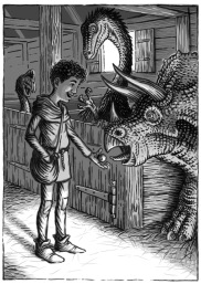 DinoKnights Interior Illustrations, Ch1