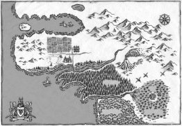 DinoKnights, Map, Scallywag Press