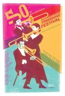 International Trombone Festival 2021 poster